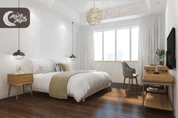 ایده های جذاب در نورپردازی اتاق خواب