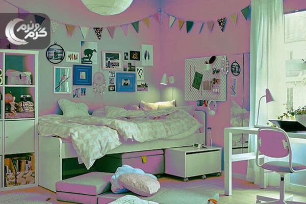 دیزاین اتاق خواب نوجوان 3