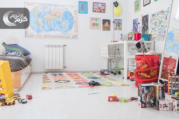 رنگها در دکوراسیون اتاق کودک پسر 3