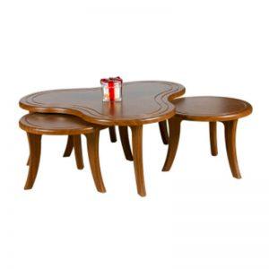 میز عسلی چوبی پاندا