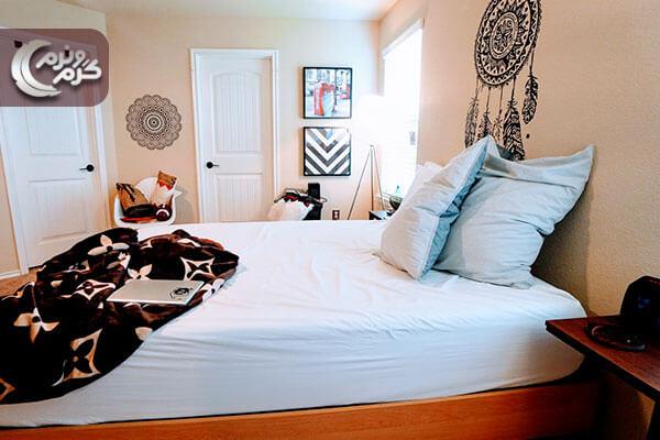 دیزاین اتاق خواب با کمترین هزینه