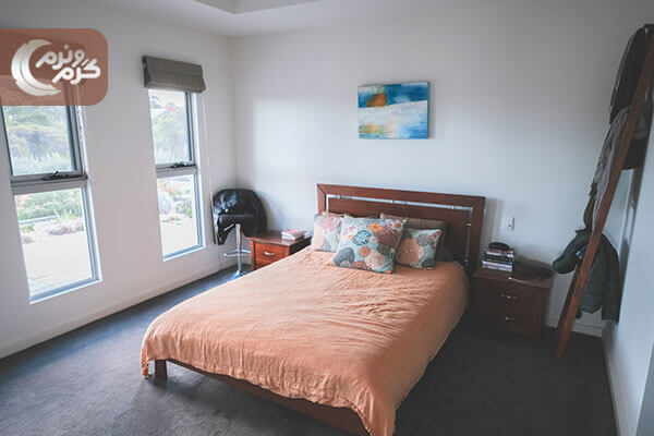 دیزاین اتاق خواب بر اساس مبلمان ۳