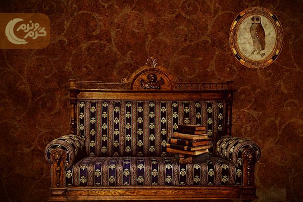 دیزاین اتاق خواب با استفاده از کاغذ دیواری 2