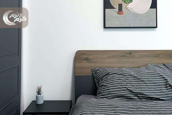 دیزاین اتاق خواب کوچک ۳